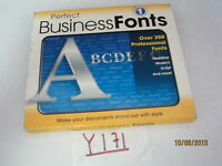 Cosmi Perfect Business Fonts Cd-rom