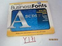 Cosmi Perfect Business Fonts Cd-rom