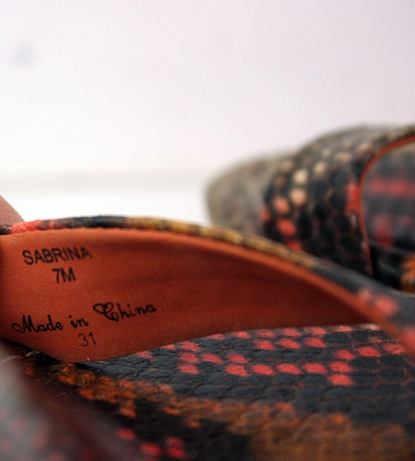 DONALD DONALD DONALD J PLINER Donna Platform Sandals Size 7 M Wedge Heels Shoes WF3 8031fd