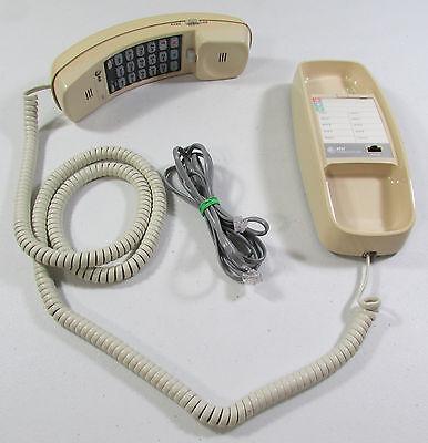 Vintage Retro AT&T Trimline 230 Telephone Beige Almond Push