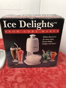 VGUC-Salton-ICM25-Ice-Delights-Snow-Cone-Maker-Frozen-Drinks-Frapppes