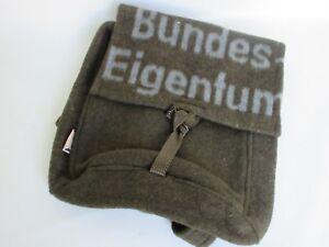 Bw Blanket Wool Bag Rucksack Nose Art True Vintage Rockabilly