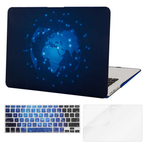 Mosiso Laptop Case for Macbook Air 13 Pro 13.3 Retina 2012-2017 keyboard cover