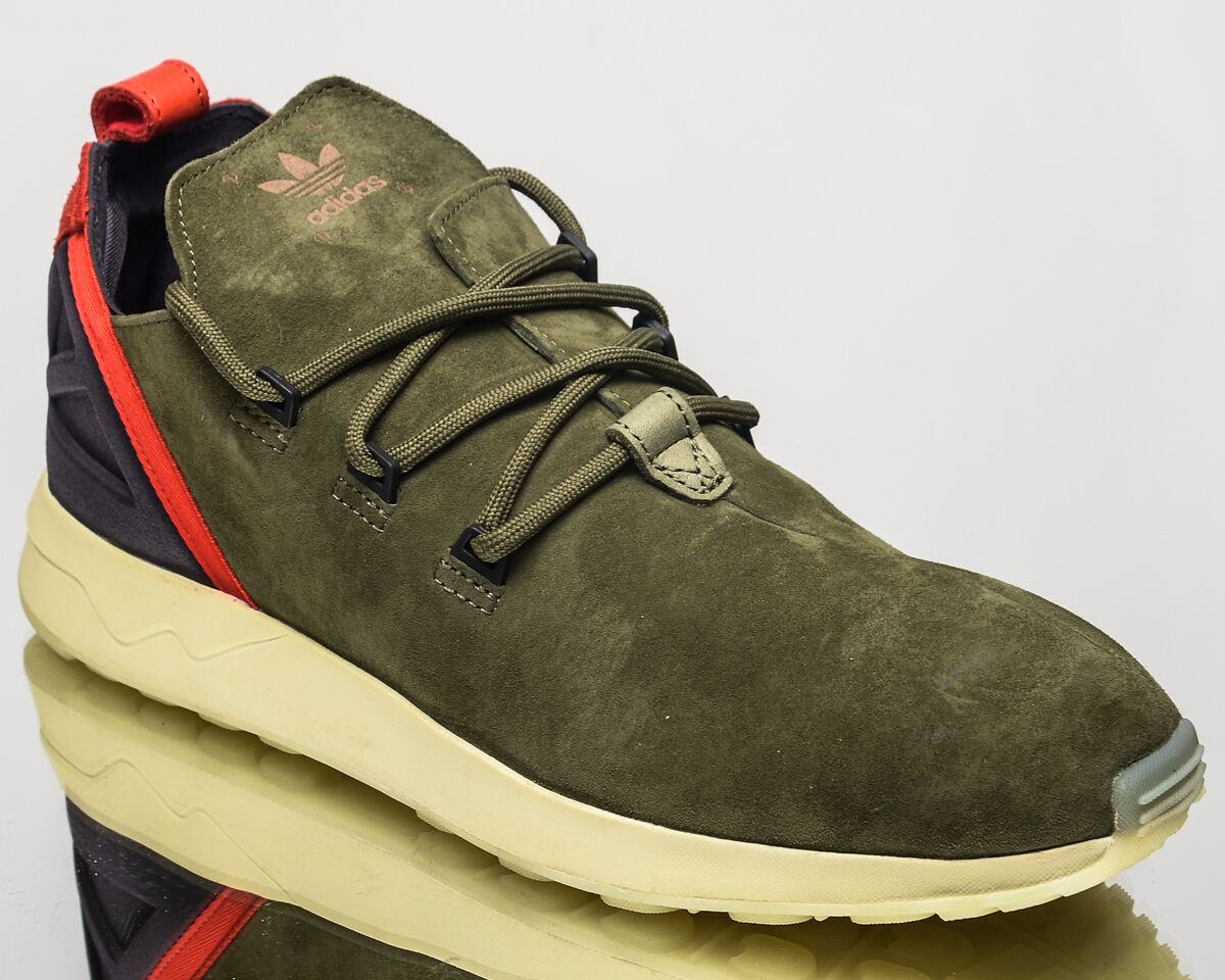 Adidas Originals ZX Flux ADV X men lifestyle casual sneakers NEW olive BB1407