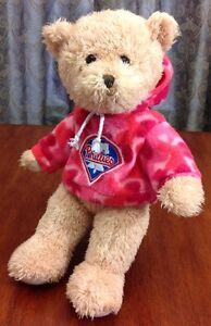 Philadelphia-Phillies-Baseball-Plush-Bear-MLB-Stuffed-Animal-Souvenir-Toy