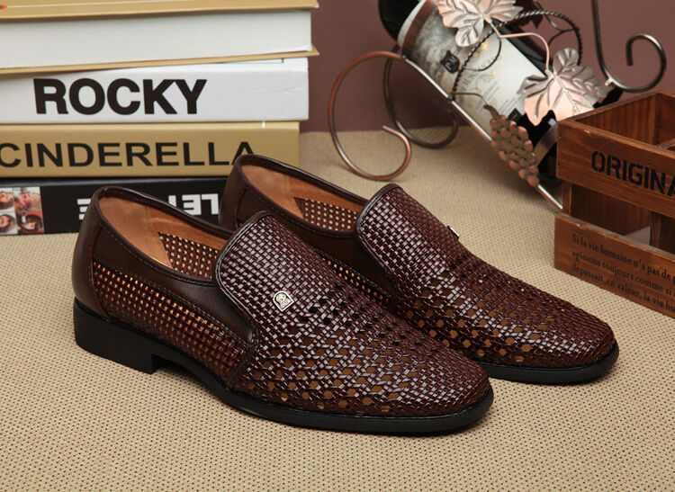Mens Hollow Breathable Formal Business Dress Sandals Casual British Style shoes