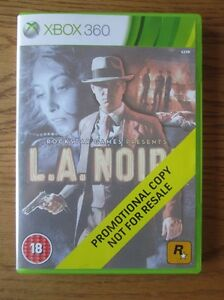 LA  LA Noire PROMO  Xbox 360 Promotional Copy Full Game  Rockstar - <span itemprop='availableAtOrFrom'>Smallford, near St. Albans, Hertfordshire, United Kingdom</span> - LA  LA Noire PROMO  Xbox 360 Promotional Copy Full Game  Rockstar - Smallford, near St. Albans, Hertfordshire, United Kingdom