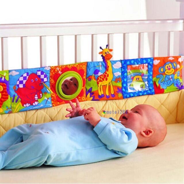 Kids Animal Cloth Book Infants Baby Intelligence Development Toys Bed Cognize