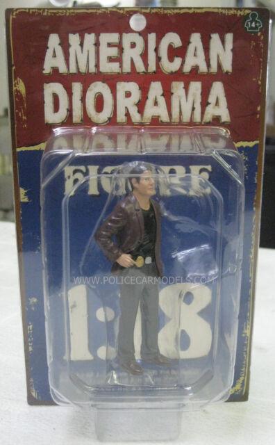 American Diorama 1/18 Detective I Police Figure Undercover Cop Great 4 Diorama