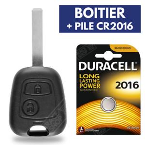 Coque-Plip-Cle-pour-Telecommande-Peugeot-106-306-406-107-207-307-Pile-DURACELL