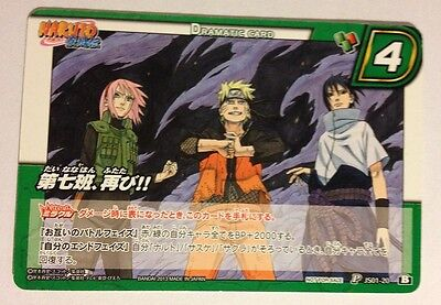 Preciso Naruto Miracle Battle Carddass Promo Js01-20