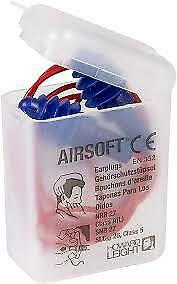 AirSoft-Multiple-Use-Earplug-SNR-30db-Reusable-single