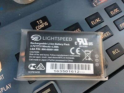 LIGHTSPEED TANGO Lithium Ion Single Battery  WALL CHARGER p//n A-550 FREE SHIP