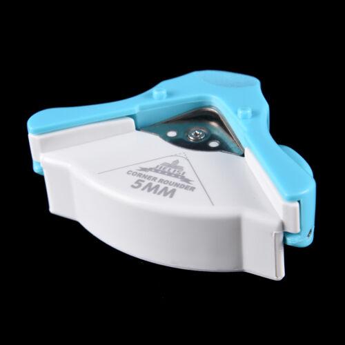R5 5mm Corner Rounder Trim Paper Punch Card Photo Cutter Tool Random Color  *BA