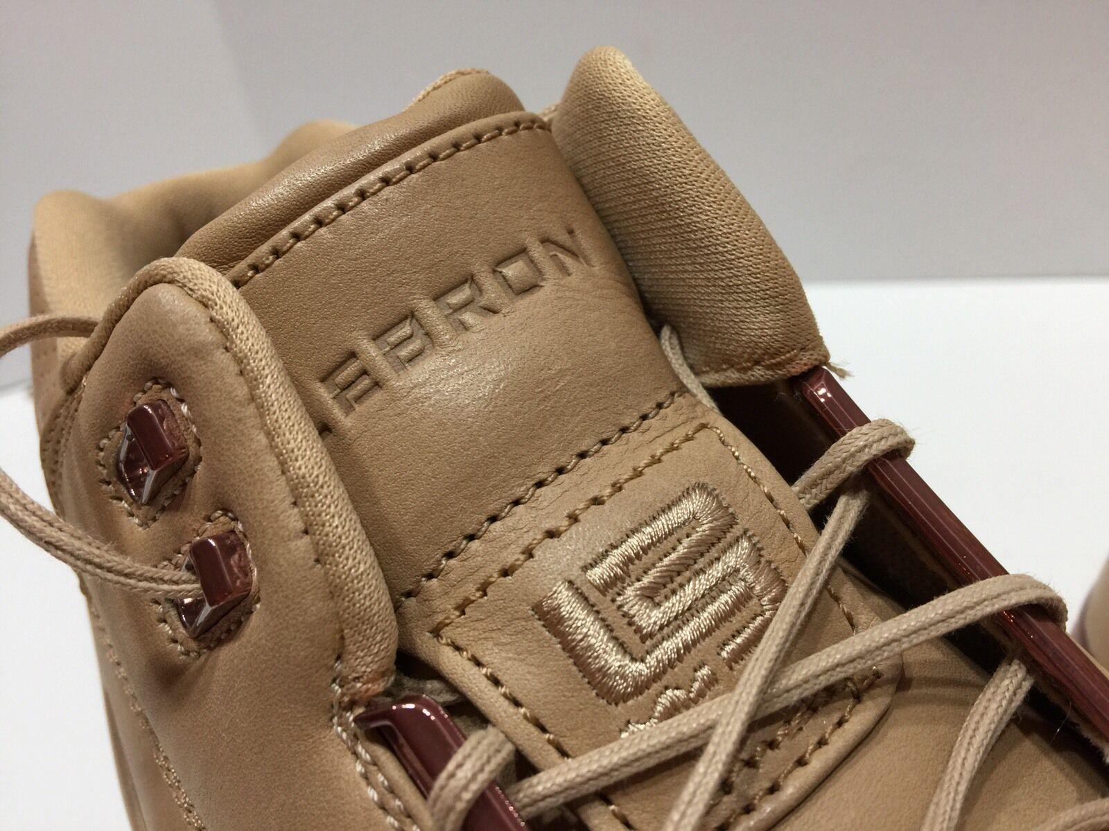 Nike air zoom generation - all - - all star lebron vachetta tan segel 308214 200 sz - 7 d0a8ae