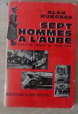 Sept hommes à l'aube Alan Burgess Attentat Heydrich Bohème