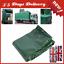 Heavy Duty PVC Tarpaulin Sheet with Eyelets Waterproof Anti-UV 1.9 x 2.9m
