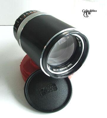 CARL ZEISS Ikon Tele-Tessar 4/135 Lens for SLR Cameras, Automatic, Mint