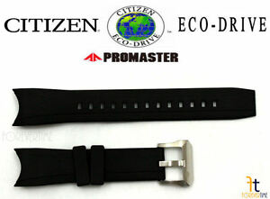 Citizen-Eco-Drive-Promaster-BN0085-01-Original-Black-Rubber-Watch-Band-Strap