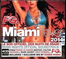 FG MIAMI FEVER 2014 - MIAMI NIGHTS - 4 CD COMPILATION NEUF ET SOUS CELLO