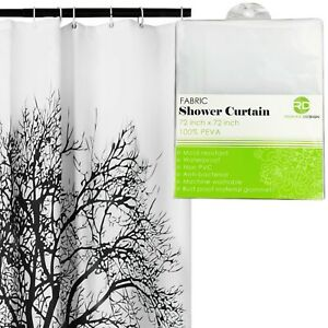 Shower-Curtain-with-Tree-Design-100-Waterproof-amp-Eco-Friendly