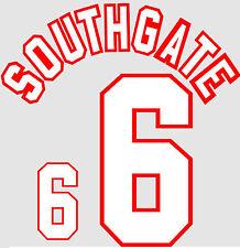 Euro 1996 Southgate 6 England Away Football Name set for National shirt
