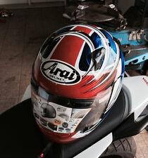 Arai Quantum 2 Spike Orange XS X-Small Blue Orange Black KTM Helmet Race Snell