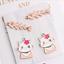 XL590# 5Pcs Enamel alloy Cat Fish bone Charm Pendant Jewelry Accessory