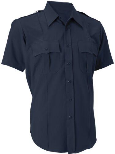 Uniform Short Sleeve Shirt Men/'s Official Duty Police Security 2-Pocket Epaulets
