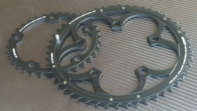 TA Nerius Inner 34T 11 Speed Campagnolo Road Bike Chainring In Silver 110mm BCD