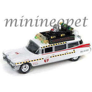 JOHNNY-LIGHTNING-JLSS004-GHOSTBUSTERS-ECTO-1A-MOVIE-1959-CADILLAC-ELDORADO-1-64