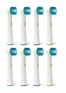 Details about 8Pcs Electric Toothbrush Heads Replacement Compatible With Oral B Model Vitality