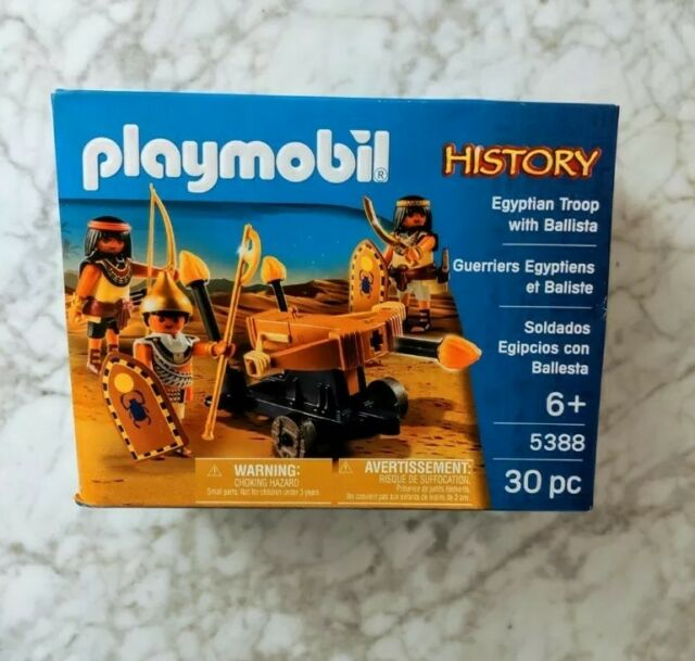 Playmobil History 5388 PLAYSET NEW IN BOX SEALED Egyptian Troop with Ballista