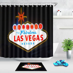 Image Is Loading 72x72 039 Las Vegas Sign Night Bathroom