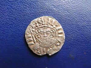 Henry III Silver Voided Long Cross Penny, Class 5c London 1216-47