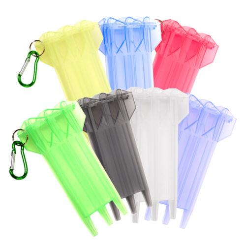 4 Farben,tragbar,Neu Dart box,transparenten,Kunststoff