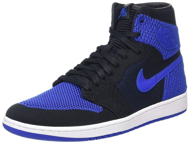 Air Jordan 1 Retro Hi Flyknit men's Basketball Shoe 919704 006 Size 10.5 New