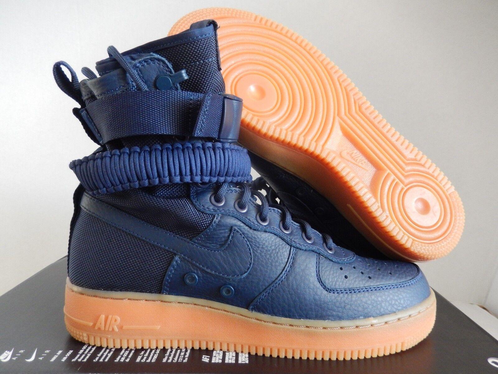 Nike air force 1 sf af1 speciale campo mezzanotte blu navy sz [864024-400]