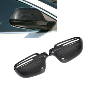 Carbon-Side-Mirror-Cover-Shell-Caps-Full-Replacement-for-Audi-A3-A4-S5-B8-A5-8T