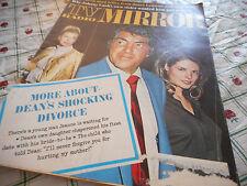 Dean Martin Covers TV & Radio Mirror Magazine April 1970 Johnny Cash