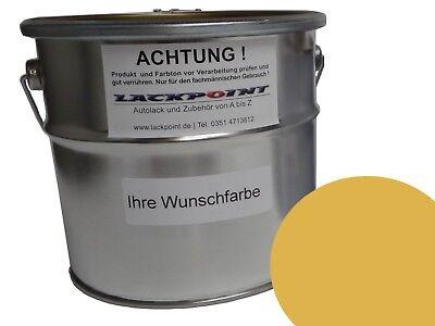 5 Liter Set 2K Autolack DDR Champagnerbeige kein Klarlack IFA Oldtimer Farbe !