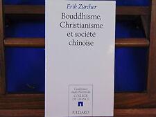 Zürcher Bouddhisme, christianisme et société chinoise ...