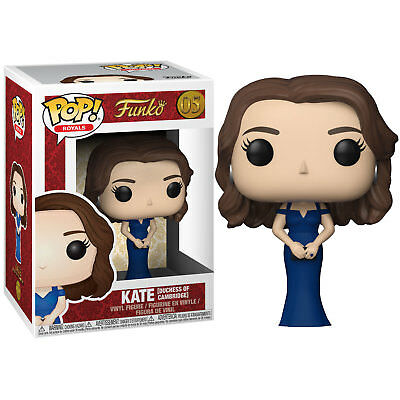 Funko Pop Royal Family-Duchess of Cambridge Kate Collectible Figure