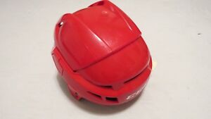 Brand-New-CCM-CL-Devils-Retro-Red-Pro-Stock-Hockey-Helmet-Size-Medium
