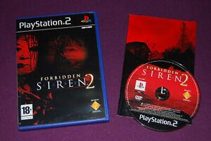 FORBIDDEN-SIREN-2-SCE-Japan-Sony-Survival-Horror-Playstation-PS2-PAL-FR