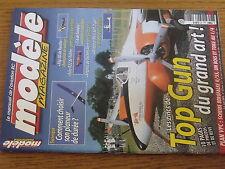 $$w Revue modele magazine RCM N°621 Plan encarte Skybolt  Top Gun  Artemis