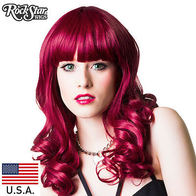 RockStar Wigs® Bang Bang™ Collection Royal Cranberry -00142 Wig USA