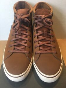 489b90978fc Details about NEW UGG Men's Hoyt Dark Chestnut Suede High Top Sneakers  Skate Shoes Size 8