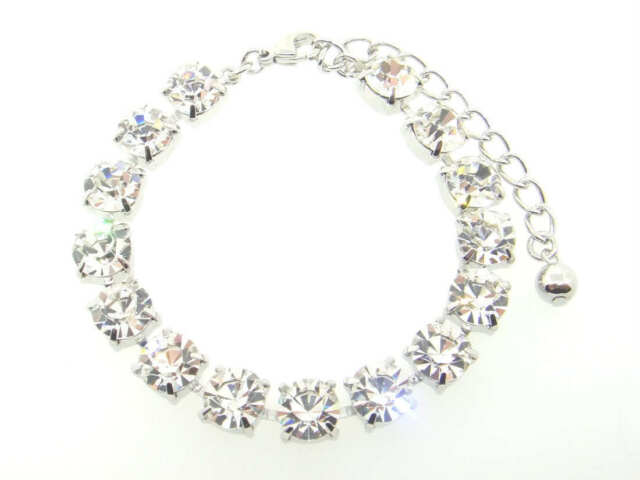 Austrian Crystal Bracelets 15 Boxes Crystal 8.5mm 39ss 3 Pieces - Choose Finish