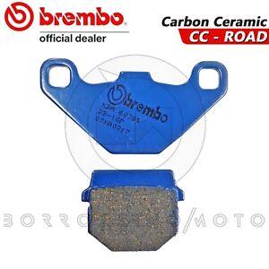 PASTIGLIE-FRENO-POSTERIORI-BREMBO-BLU-CARBON-CERAMIC-RIEJU-RS2-NKD-50-125-2012